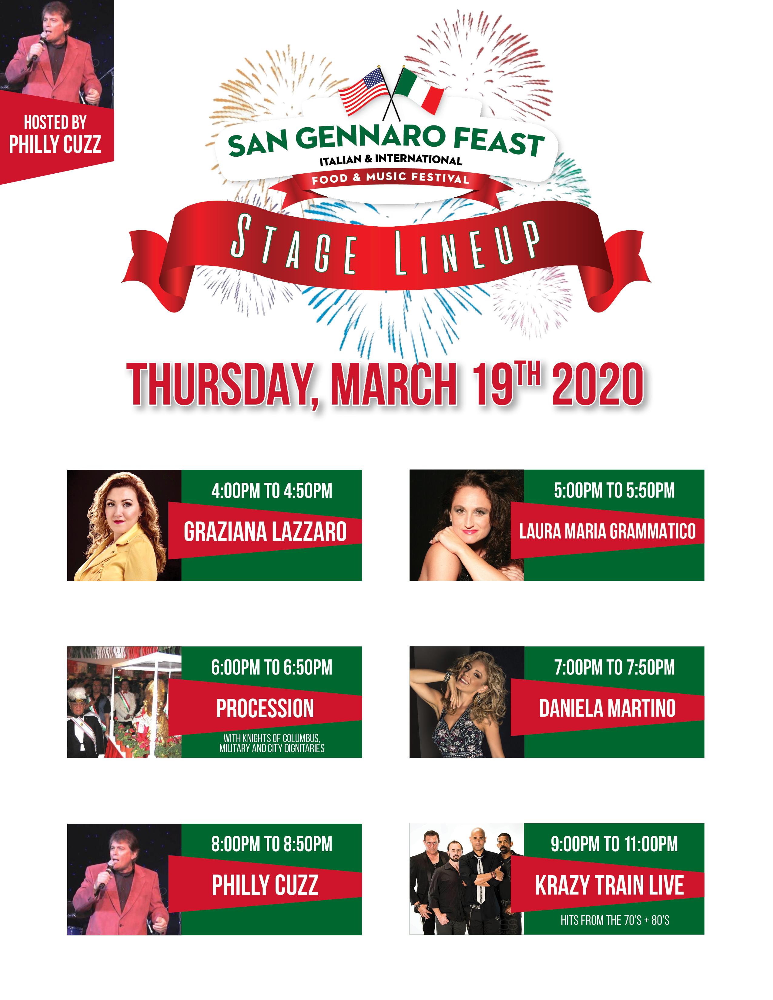 Entertainment Lineup March 2020 MECH
