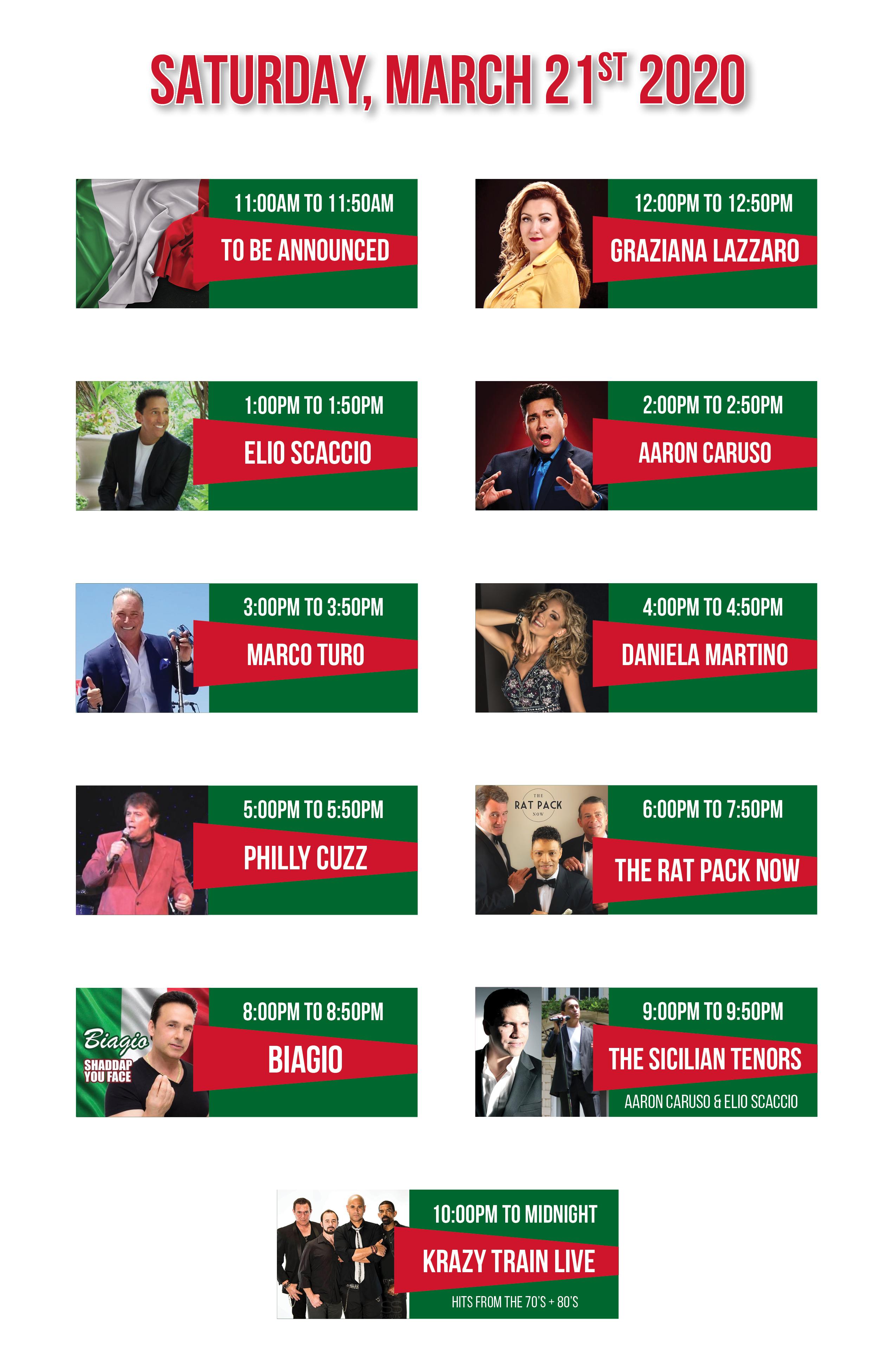 Entertainment Lineup March 20203 MECH